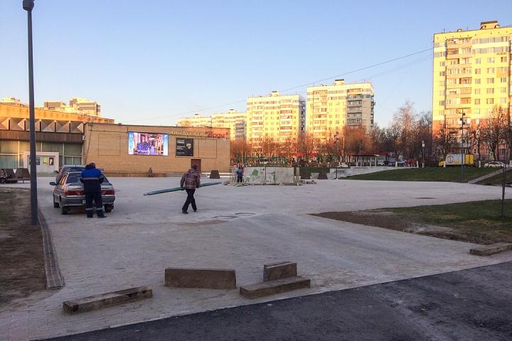 Заканчивается масштабное благоустройство центра города Видное. Фоторепортаж фото 4