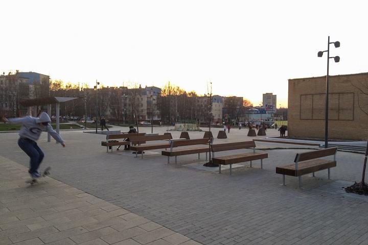 Заканчивается масштабное благоустройство центра города Видное. Фоторепортаж фото 68