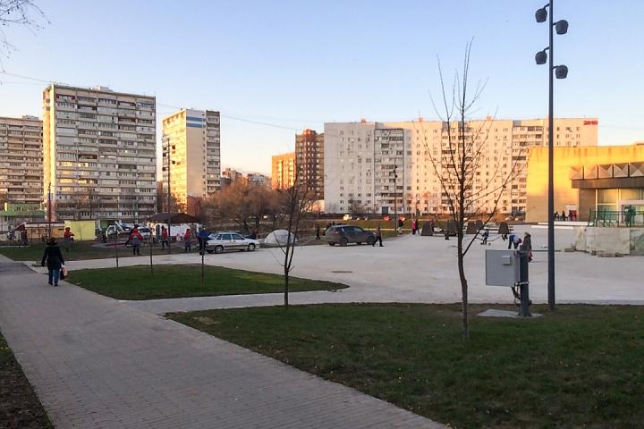 Заканчивается масштабное благоустройство центра города Видное. Фоторепортаж фото 3
