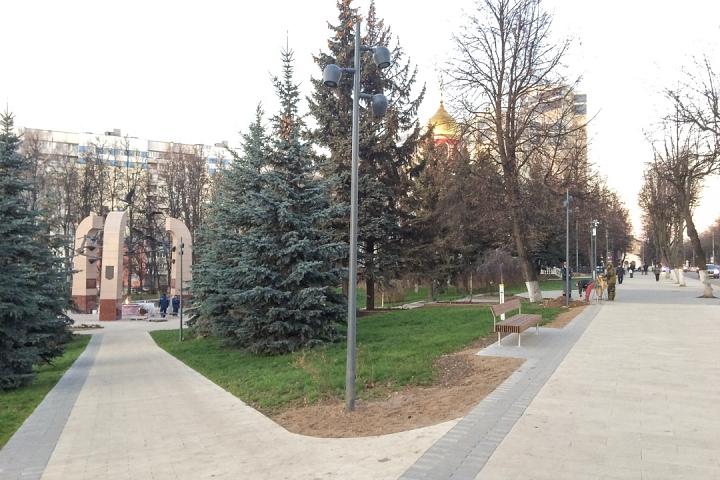 Заканчивается масштабное благоустройство центра города Видное. Фоторепортаж фото 59