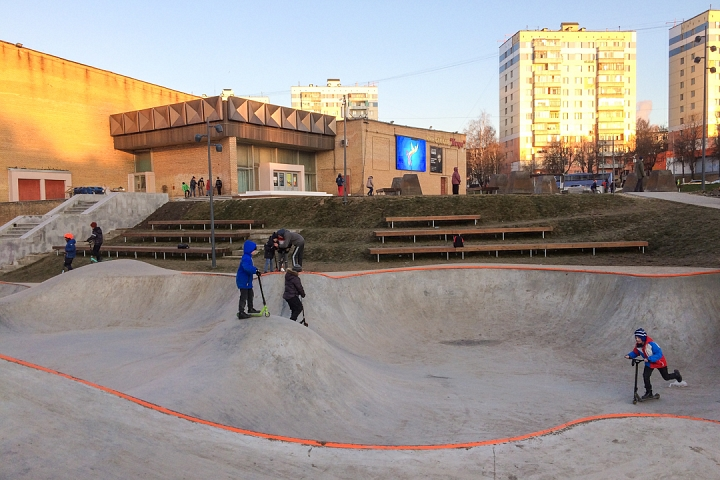 Заканчивается масштабное благоустройство центра города Видное. Фоторепортаж фото 8