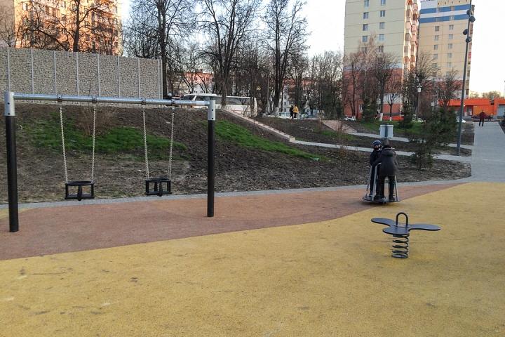 Заканчивается масштабное благоустройство центра города Видное. Фоторепортаж фото 47