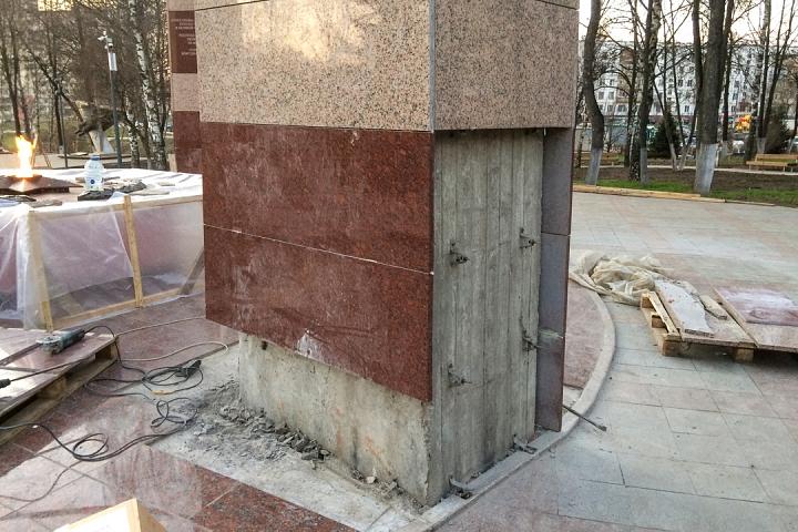 Заканчивается масштабное благоустройство центра города Видное. Фоторепортаж фото 56