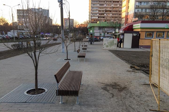 Заканчивается масштабное благоустройство центра города Видное. Фоторепортаж фото 16