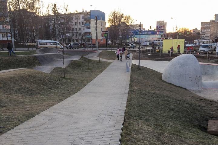 Заканчивается масштабное благоустройство центра города Видное. Фоторепортаж фото 12