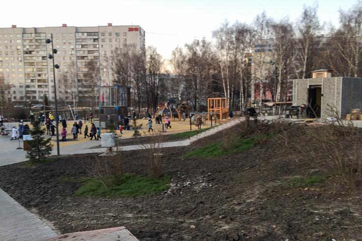 Заканчивается масштабное благоустройство центра города Видное. Фоторепортаж фото 61