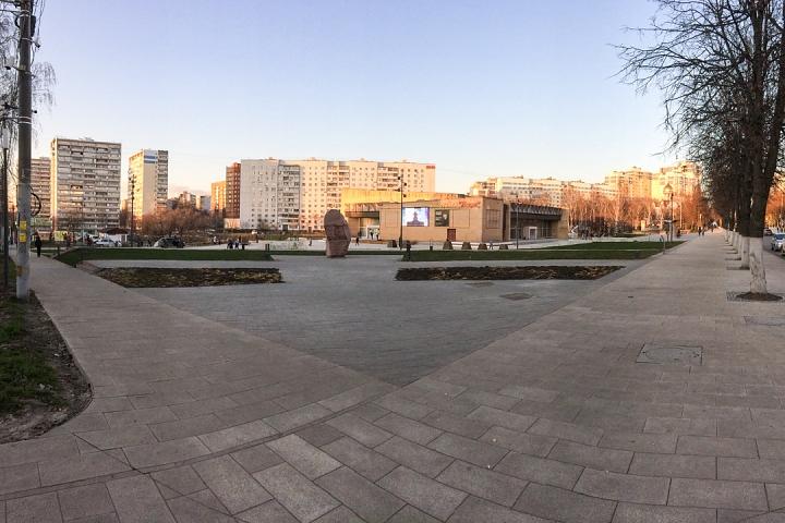 Заканчивается масштабное благоустройство центра города Видное. Фоторепортаж фото 2