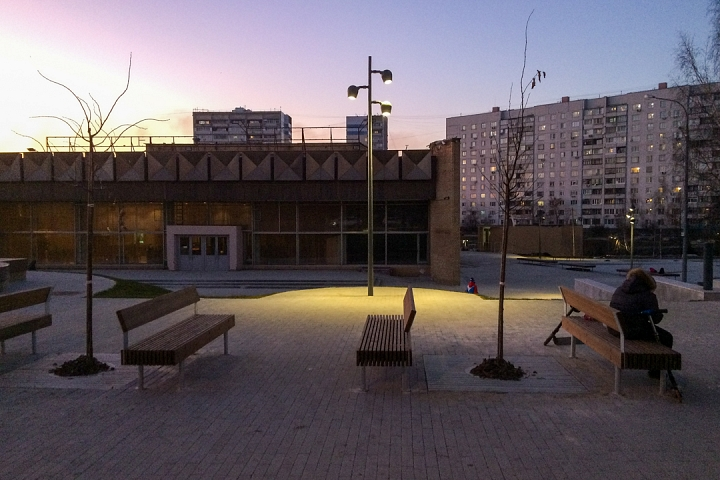 Заканчивается масштабное благоустройство центра города Видное. Фоторепортаж фото 71