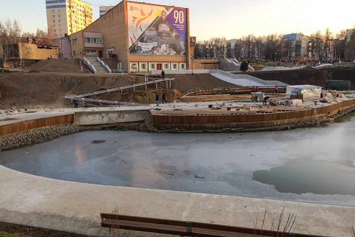 Заканчивается масштабное благоустройство центра города Видное. Фоторепортаж фото 27