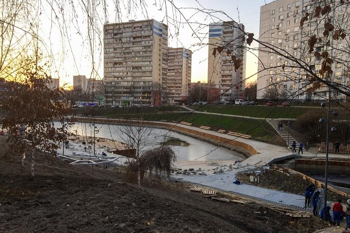Заканчивается масштабное благоустройство центра города Видное. Фоторепортаж фото 35