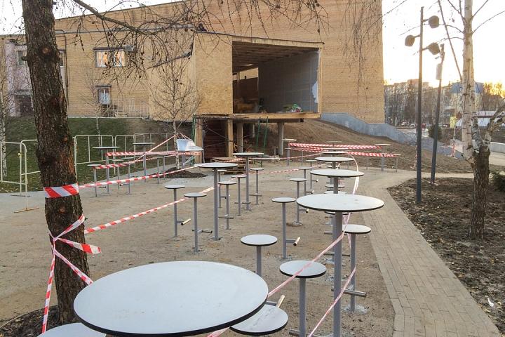 Заканчивается масштабное благоустройство центра города Видное. Фоторепортаж фото 33