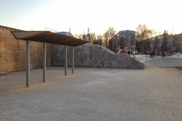 Заканчивается масштабное благоустройство центра города Видное. Фоторепортаж фото 41