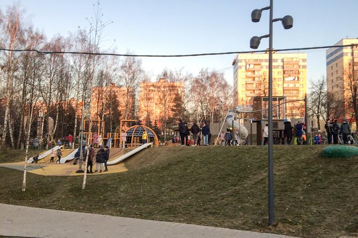 Заканчивается масштабное благоустройство центра города Видное. Фоторепортаж фото 43