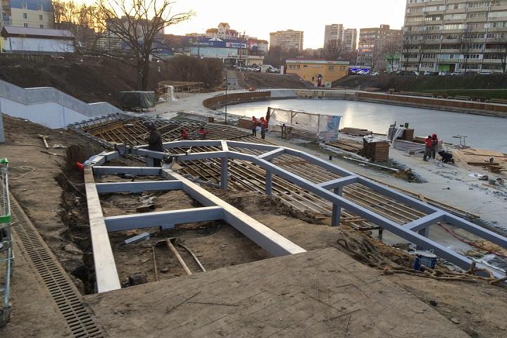 Заканчивается масштабное благоустройство центра города Видное. Фоторепортаж фото 36