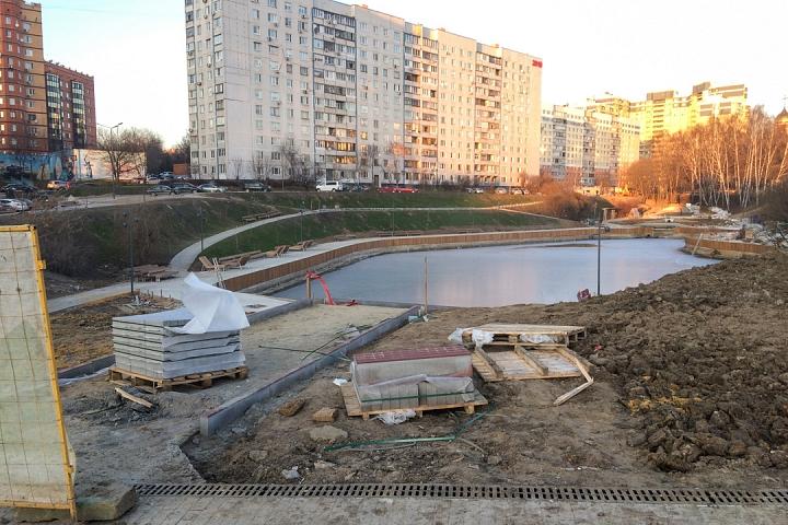 Заканчивается масштабное благоустройство центра города Видное. Фоторепортаж фото 17