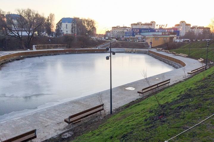 Заканчивается масштабное благоустройство центра города Видное. Фоторепортаж фото 26
