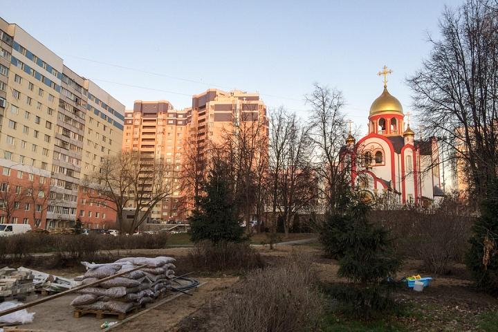 Заканчивается масштабное благоустройство центра города Видное. Фоторепортаж фото 52