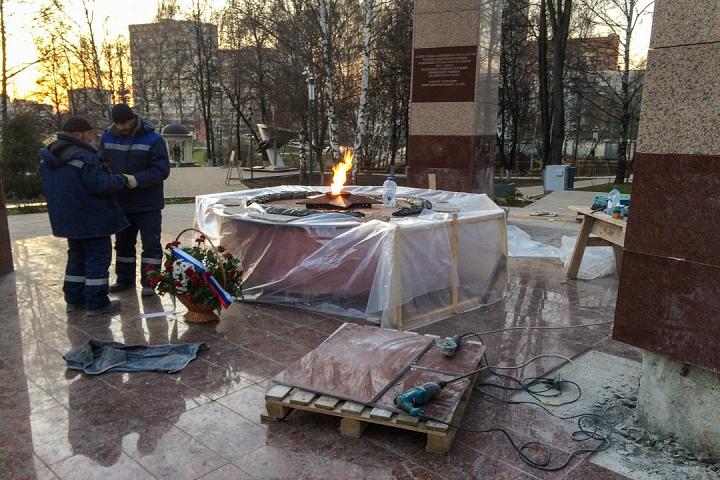 Заканчивается масштабное благоустройство центра города Видное. Фоторепортаж фото 55