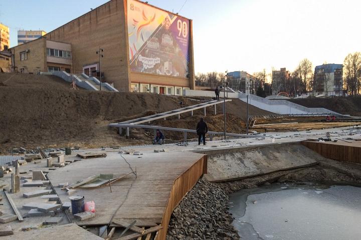 Заканчивается масштабное благоустройство центра города Видное. Фоторепортаж фото 30