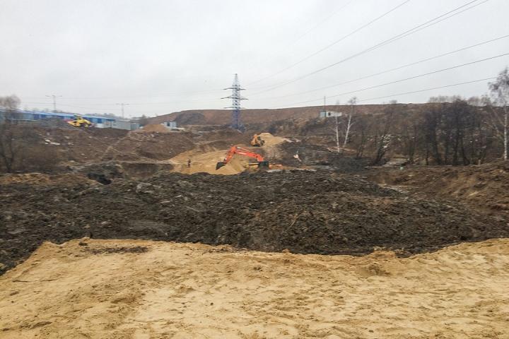 О строительстве дороги-выезда на трассу М-4 «Дон». Декабрь 2019. Фоторепортаж фото 18
