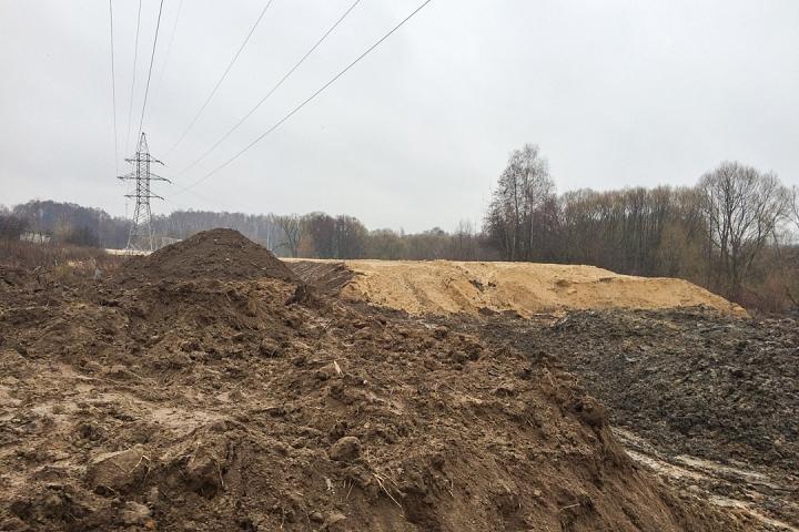 О строительстве дороги-выезда на трассу М-4 «Дон». Декабрь 2019. Фоторепортаж фото 24