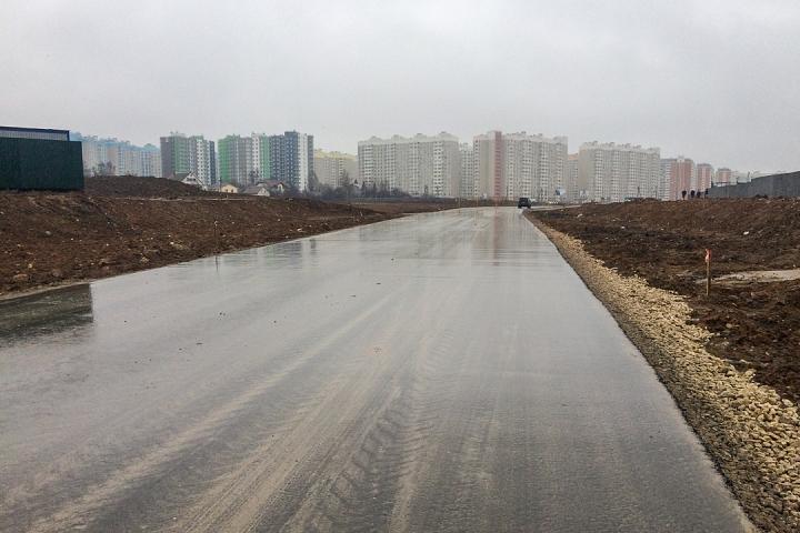 О строительстве дороги-выезда на трассу М-4 «Дон». Декабрь 2019. Фоторепортаж фото 10