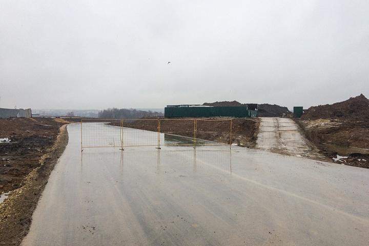 О строительстве дороги-выезда на трассу М-4 «Дон». Декабрь 2019. Фоторепортаж фото 7