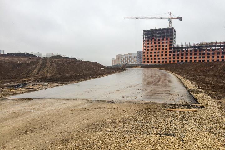 О строительстве дороги-выезда на трассу М-4 «Дон». Декабрь 2019. Фоторепортаж фото 12