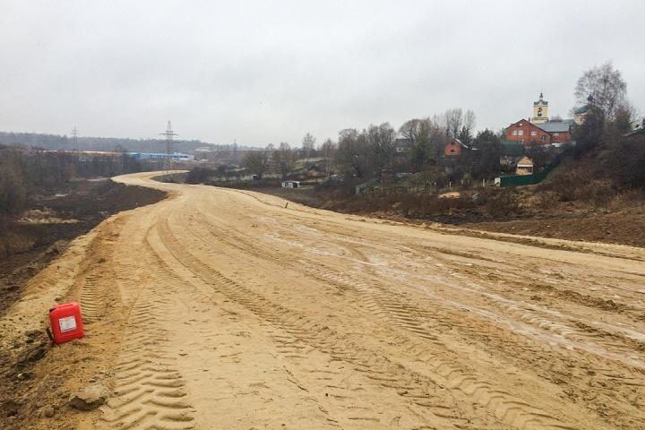О строительстве дороги-выезда на трассу М-4 «Дон». Декабрь 2019. Фоторепортаж фото 14