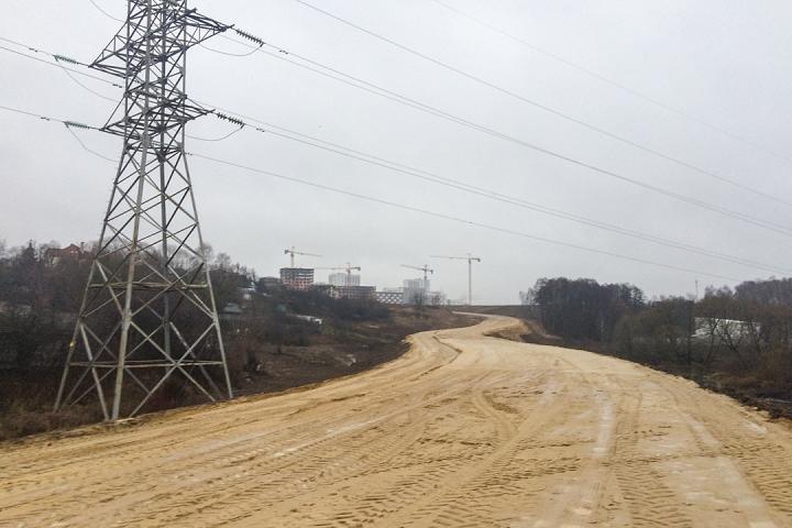 О строительстве дороги-выезда на трассу М-4 «Дон». Декабрь 2019. Фоторепортаж фото 17