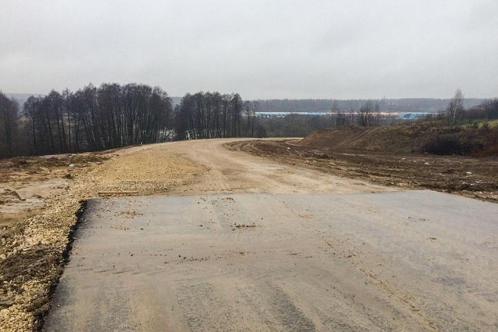 О строительстве дороги-выезда на трассу М-4 «Дон». Декабрь 2019. Фоторепортаж фото 11