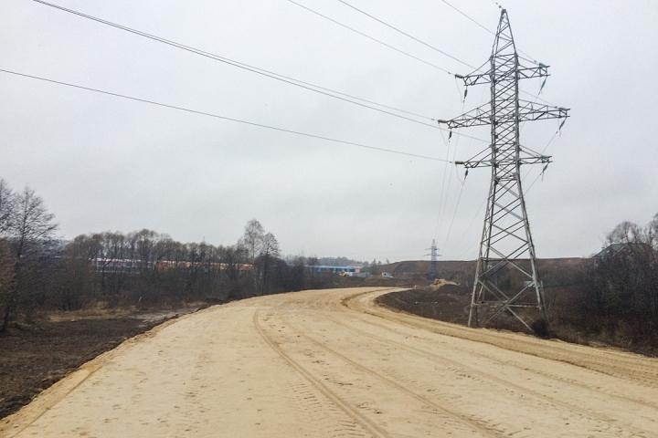 О строительстве дороги-выезда на трассу М-4 «Дон». Декабрь 2019. Фоторепортаж фото 15