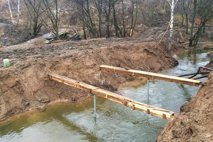 О строительстве дороги-выезда на трассу М-4 «Дон». Декабрь 2019. Фоторепортаж фото 22