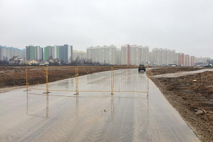 О строительстве дороги-выезда на трассу М-4 «Дон». Декабрь 2019. Фоторепортаж фото 8