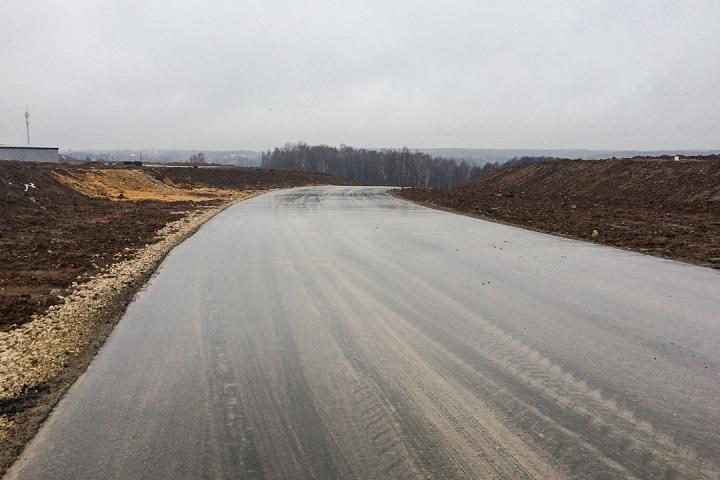 О строительстве дороги-выезда на трассу М-4 «Дон». Декабрь 2019. Фоторепортаж фото 9