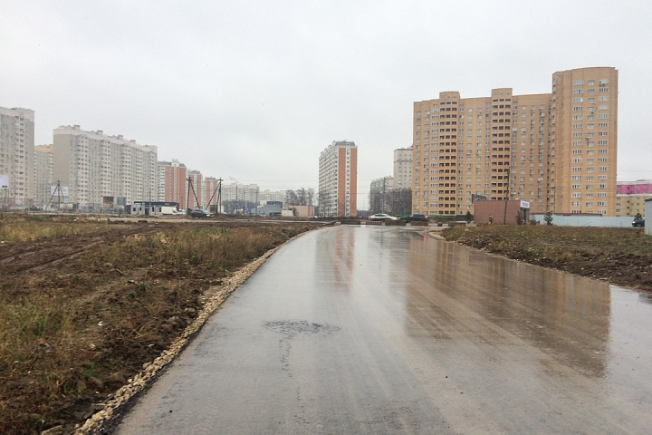 О строительстве дороги-выезда на трассу М-4 «Дон». Декабрь 2019. Фоторепортаж фото 5
