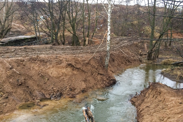 О строительстве дороги-выезда на трассу М-4 «Дон». Декабрь 2019. Фоторепортаж фото 23