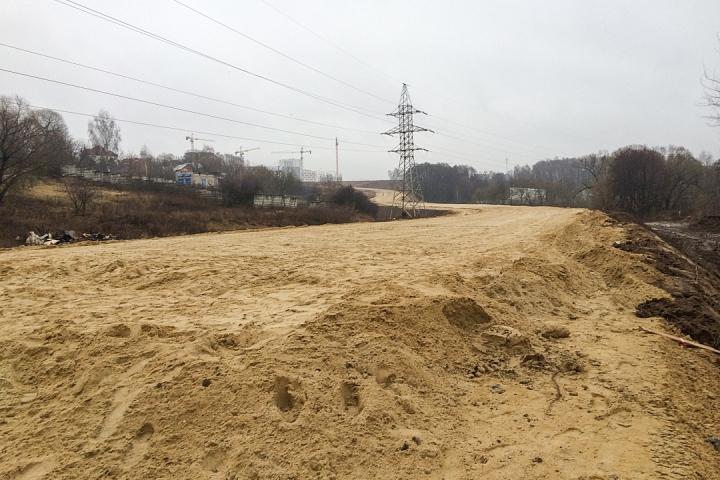 О строительстве дороги-выезда на трассу М-4 «Дон». Декабрь 2019. Фоторепортаж фото 20