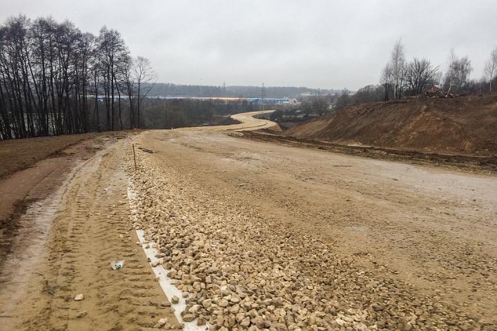 О строительстве дороги-выезда на трассу М-4 «Дон». Декабрь 2019. Фоторепортаж фото 13