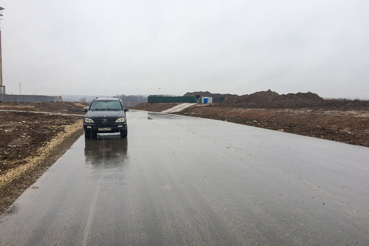 О строительстве дороги-выезда на трассу М-4 «Дон». Декабрь 2019. Фоторепортаж фото 6