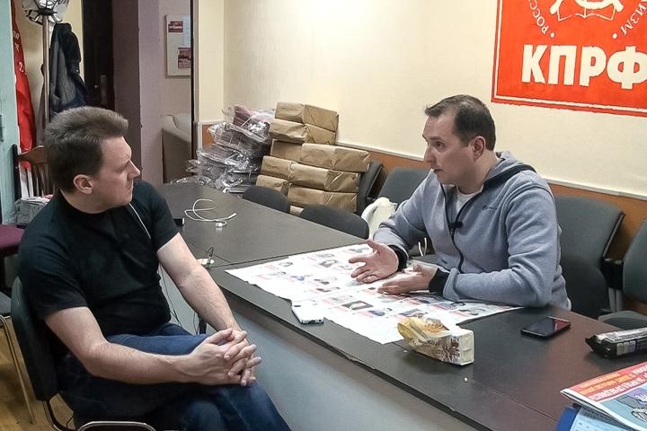 Интервью с Владимиром Глотовым. О бандитских нападениях и беспределе на выборной кампании
