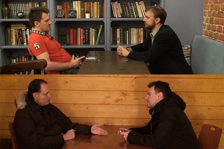 Интервью с Анатолием Хомяковым и Романом Харлановым о выборах депутатов Ленинского городского округа
