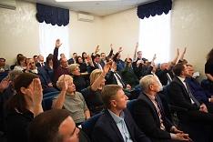 Совет депутатов Ленинского городского округа избрал председателя и ликвидировал Советы депутатов поселений Ленинского района