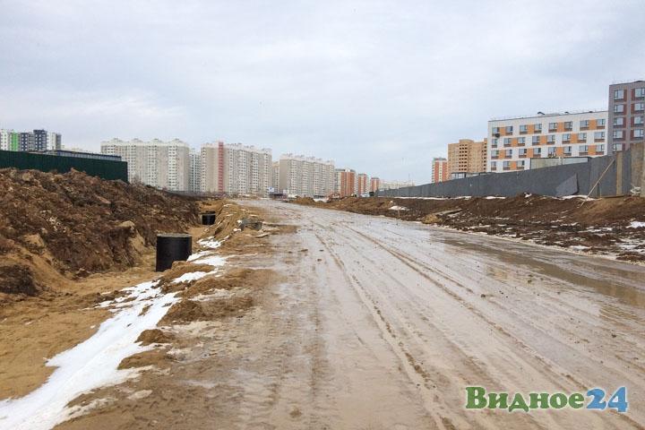 О строительстве дороги-выезда на трассу М-4 «Дон». Февраль 2020. Фоторепортаж фото 17