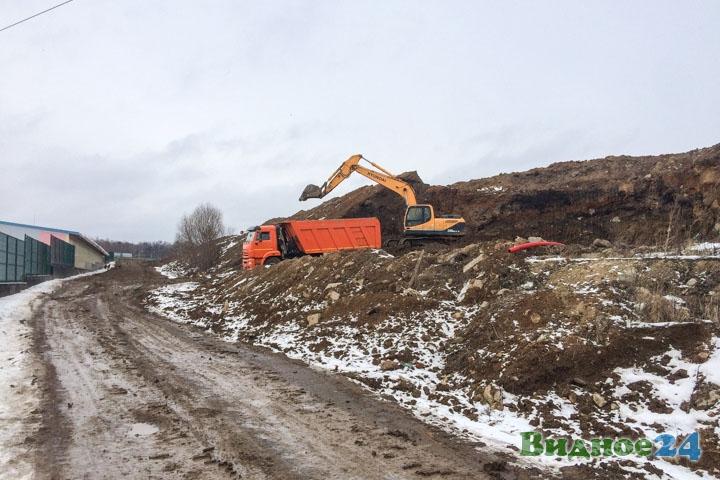 О строительстве дороги-выезда на трассу М-4 «Дон». Февраль 2020. Фоторепортаж фото 8