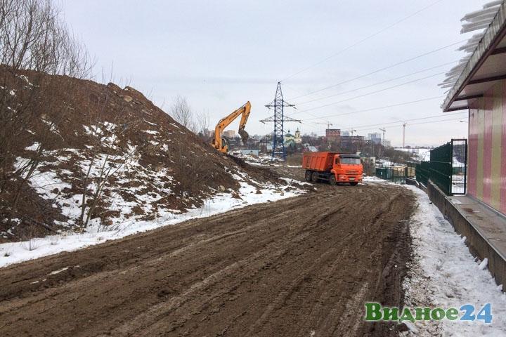 О строительстве дороги-выезда на трассу М-4 «Дон». Февраль 2020. Фоторепортаж фото 52