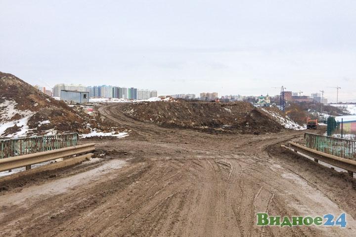 О строительстве дороги-выезда на трассу М-4 «Дон». Февраль 2020. Фоторепортаж фото 57
