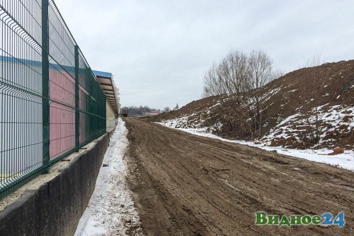 О строительстве дороги-выезда на трассу М-4 «Дон». Февраль 2020. Фоторепортаж фото 51