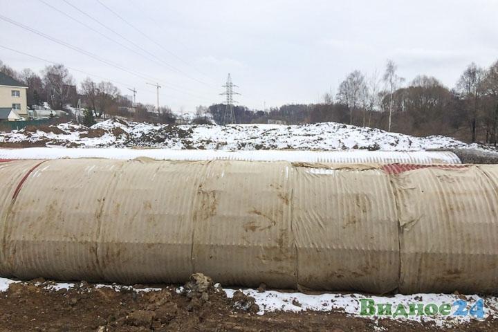 О строительстве дороги-выезда на трассу М-4 «Дон». Февраль 2020. Фоторепортаж фото 47