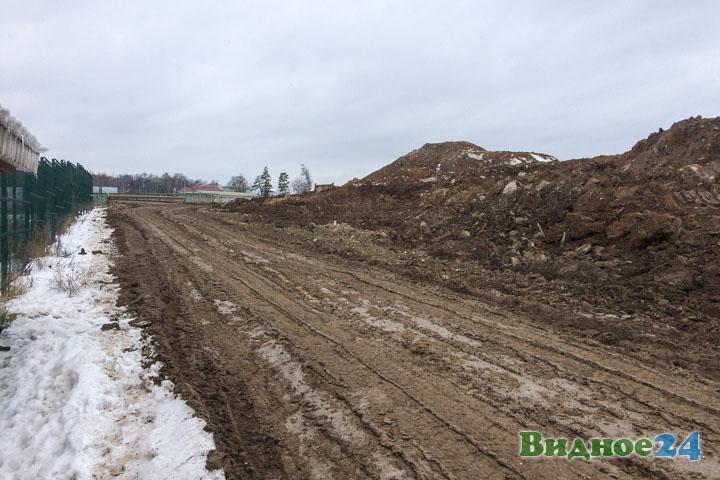 О строительстве дороги-выезда на трассу М-4 «Дон». Февраль 2020. Фоторепортаж фото 54